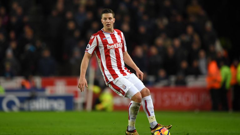 Kevin Wimmer is currently on loan at Hannover, but could make a permanent move to Germany