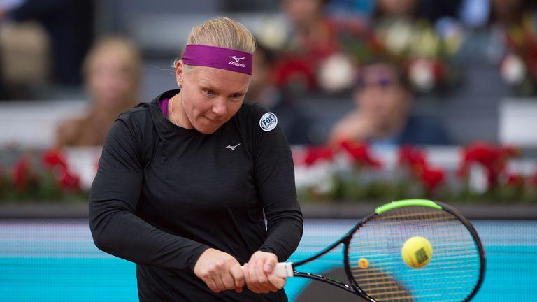 World No 20 Kiki Bertens beat Maria Sharpova and Caroline Garcia on her way to the final