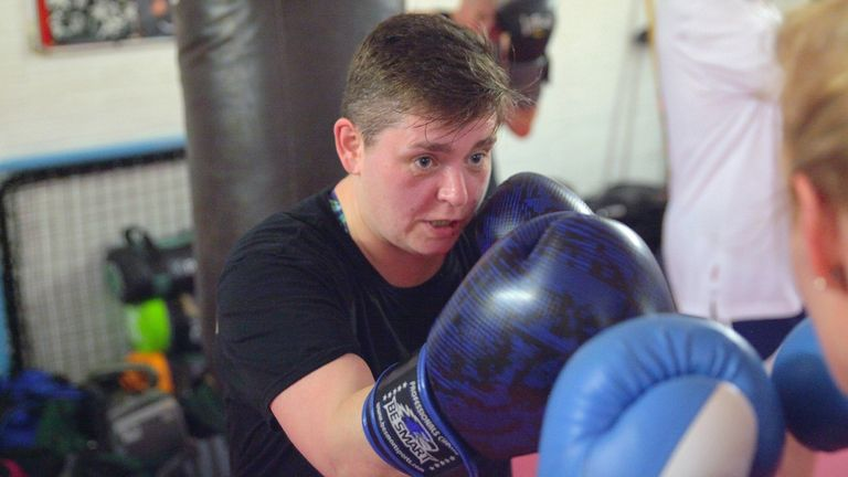 Leasa says building friendships and fitness are major factors in her passion for boxing