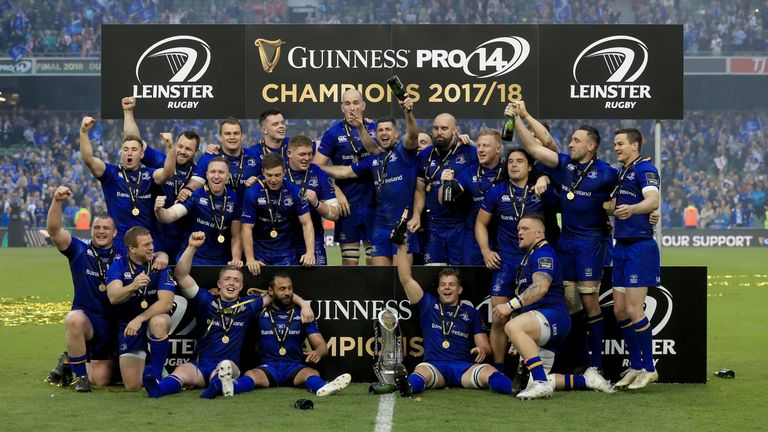 Leinster are the defending PRO14 champions, having beaten the Scarlets in the final last year