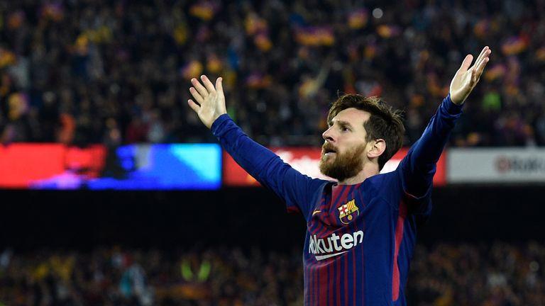 Lionel Messi Barcelona 2-2 Real Madrid