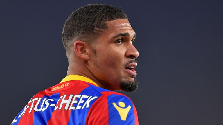 Crystal Palace midfielder Ruben Loftus-Cheek