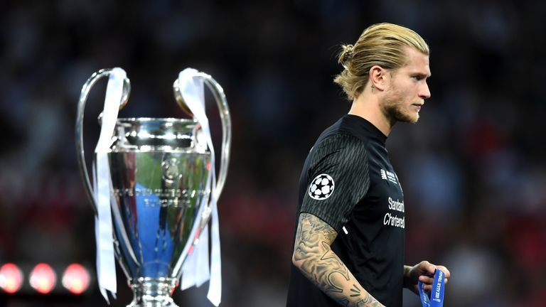 Loris Karius was at fault for two of Real's three goals in Kiev