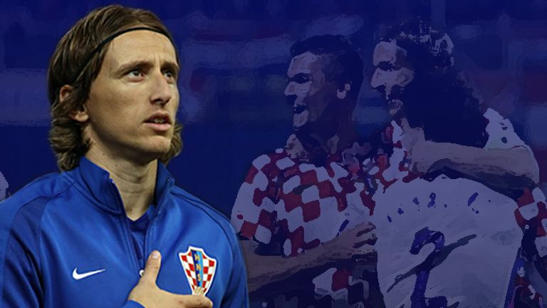 Croatia captain Luka Modric is ready to lead his team at the 2018 World Cup