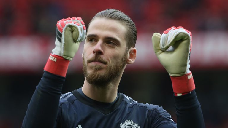 Manchester United fans will be hoping David de Gea agrees a new long-term contract