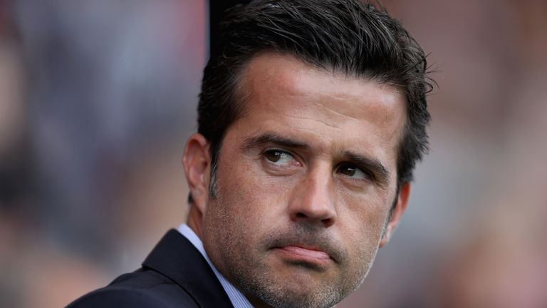 Marco Silva is the bookmakers' favourite for the Everton job