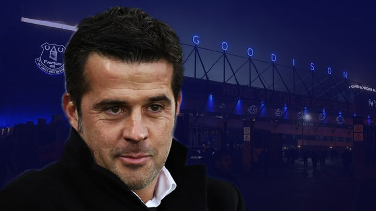 Marco Silva is the favourite to be the next Everton manager
