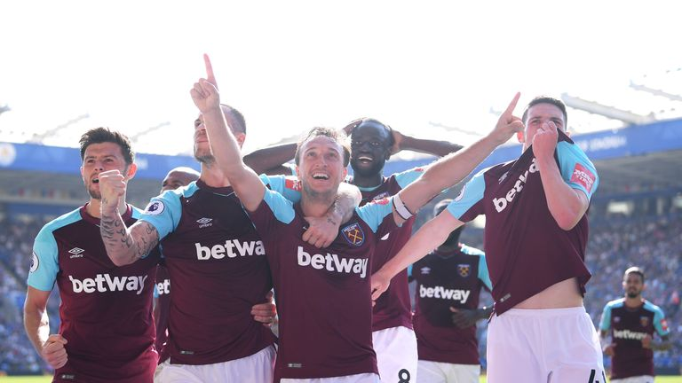 West Ham took a 2-0 victory at the King Power Stadium recently