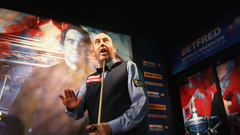Mark Williams won his first World crown at the Crucible 18 years ago