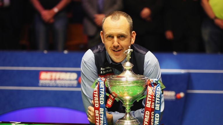 Mark Williams landed his third Crucible title, a full 15 years after his second