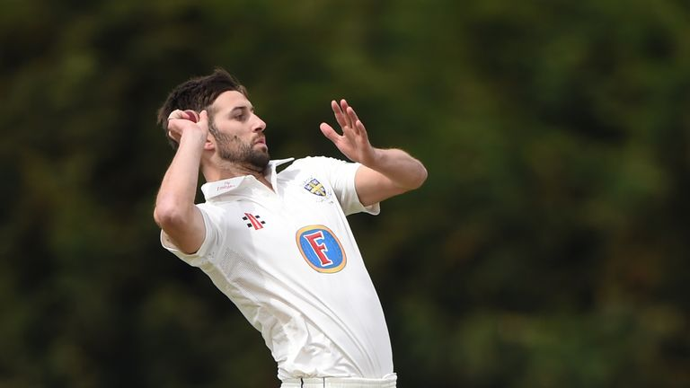 Mark Wood bagged six wickets for Durham at Derbyshire