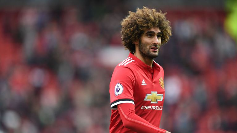 Marouane Fellaini's future at Manchester United remains unclear