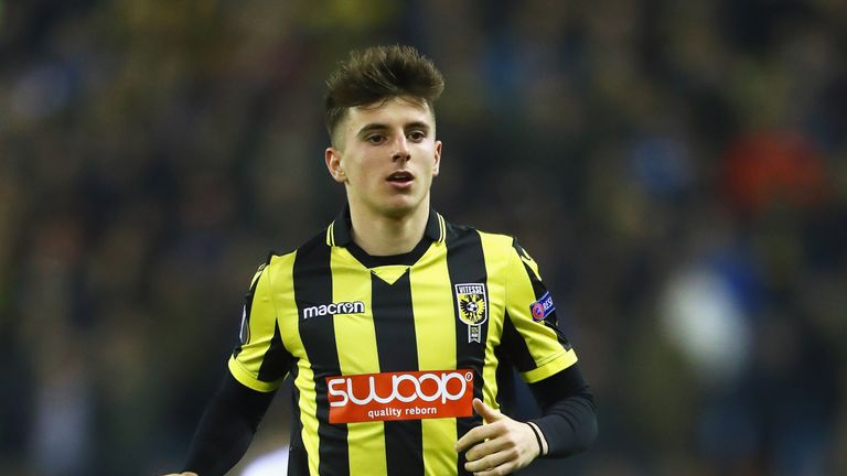 Mason Mount has been on loan with Dutch side Vitesse Arnhem