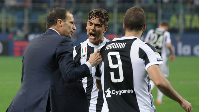 Allegri's Juventus need one more point to clinch the Serie A title