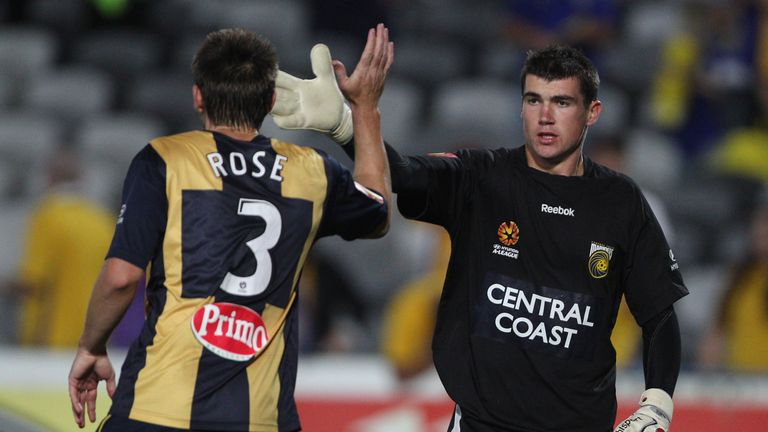 Mat Ryan plied his trade for Central Coast Mariners in Australia