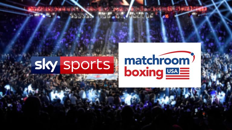 Sky Sports and Matchroom Boxing USA have even more nights coming