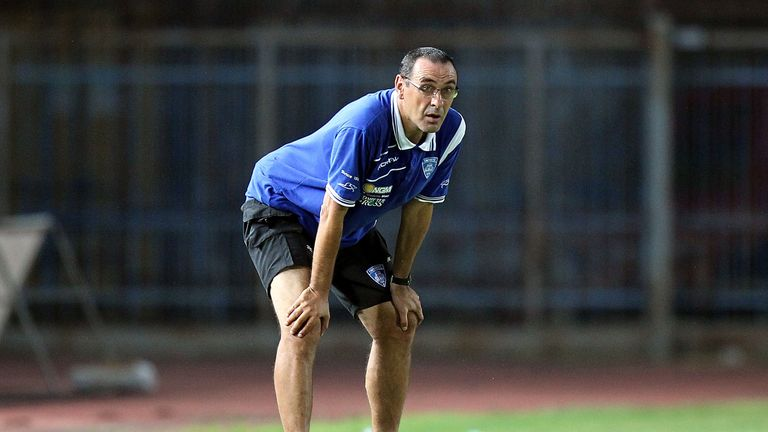 Sarri went on to win promotion from Serie B with Empoli before joining Napoli