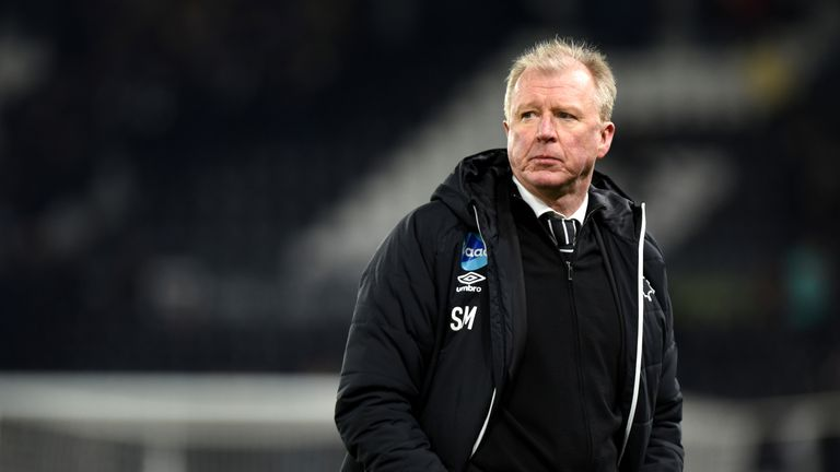 Steve McClaren was sacked by Derby in March last year