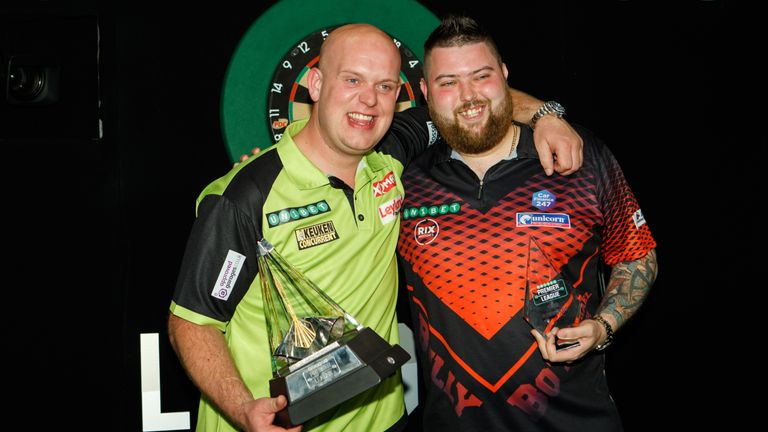 Van Gerwen and Smith headline the opening night of the 2019 Premier League