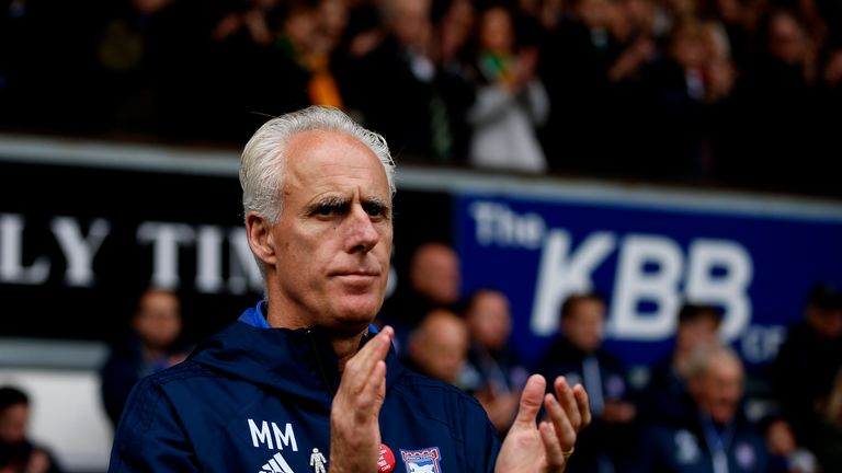 Mick McCarthy left Ipswich in April following six years in charge at the club