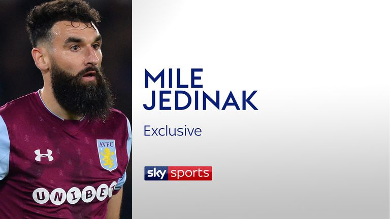 Mile Jedinak believes Aston Villa's play-off semi-finals against Middlesbrough will be a test of 'who can control their nerve the most'
