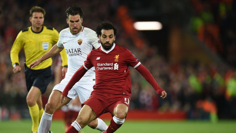 Mohamed Salah produced another masterclass against Roma in their Champions League semi-final first leg