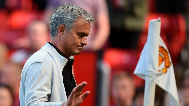 Jose Mourinho will hope his forwards are firing on all cylinders in the new season