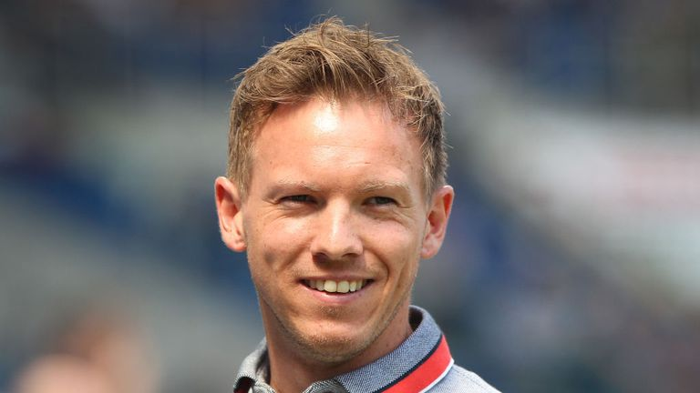 At 30-years-old Julian Nagelsmann is the youngest manager in the Bundesliga.