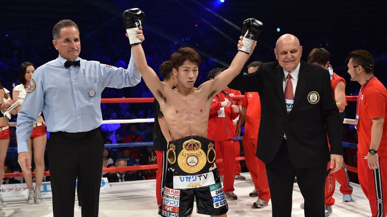 Inoue added another KO to his record
