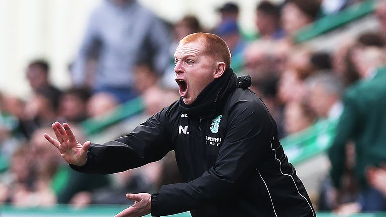 "Neil Lennon says fourth is ""unacceptable"" for Hibernian"