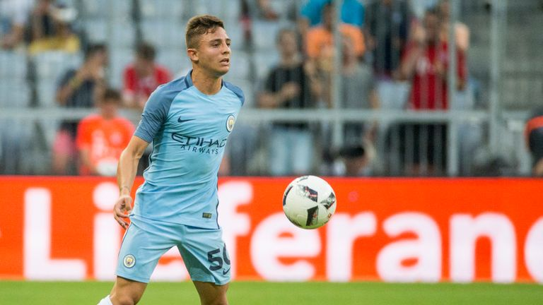 Pablo Maffeo spent the last season playing for Girona in Spain