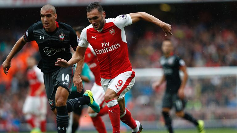 The Spaniard made his Arsenal debut against Southampton in September 2016