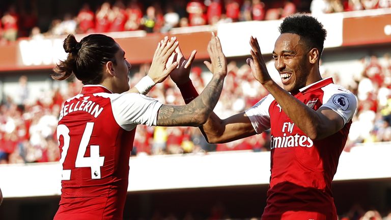Seventeen different goalscorers found the net for Arsenal last season