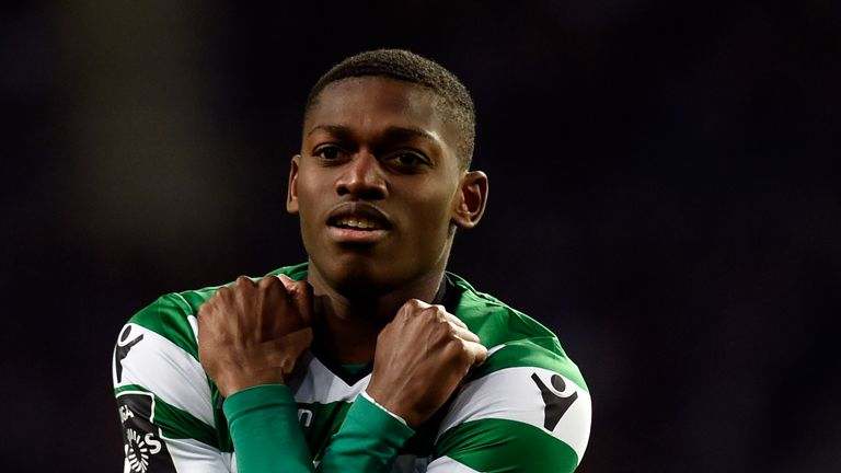 Manchester City are reportedly interested in Sporting Lisbon's Rafael Leao