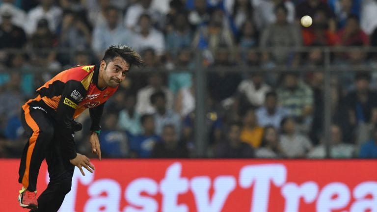Only Andrew Tye took more IPL wickets in 2018 than Rashid Khan (Credit: AFP)