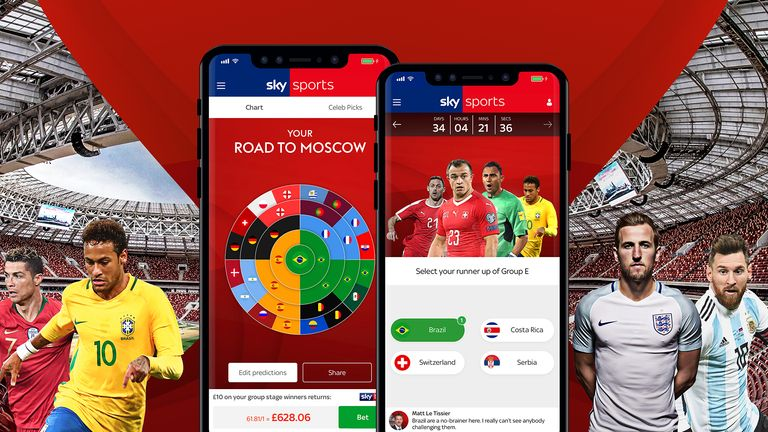 Plot your way through the World Cup in Russia with our interactive game
