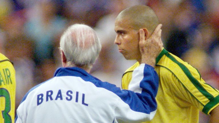 Ronaldo was involved in a dramatic prelude to the 1998 World Cup final