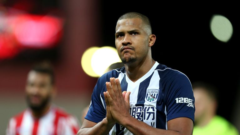 West Brom were relegated on Tuesday