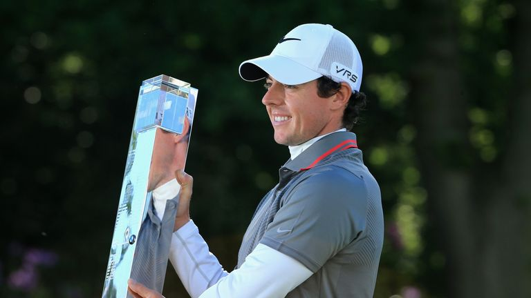 McIlroy won the BMW PGA Championship at Wentworth in 2014