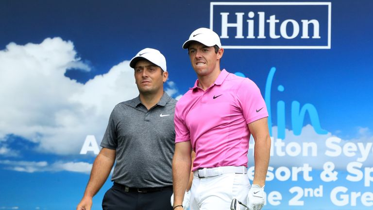 Francesco Molinari held off Rory McIlroy to win by two shots at Wentworth