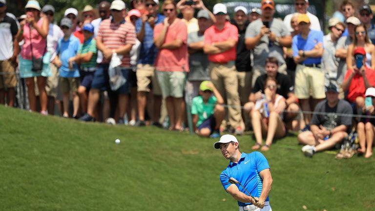 Rory McIlroy did not survive the halfway cut