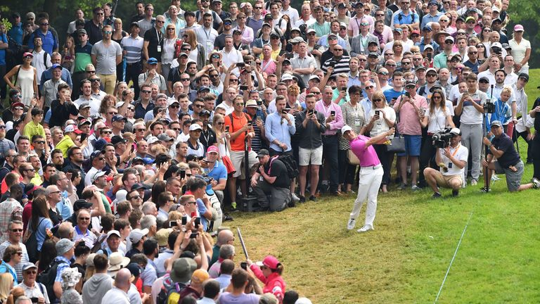 McIlroy struggled with his game over the weekend after leading at halfway