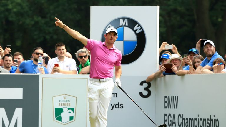 McIlroy had taken a three-shot lead in to the weekend