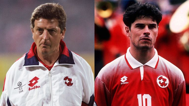 Roy Hodgson, helped by former midfeidler Ciriaco Sforza, revolutionised Switzerland's fortunes