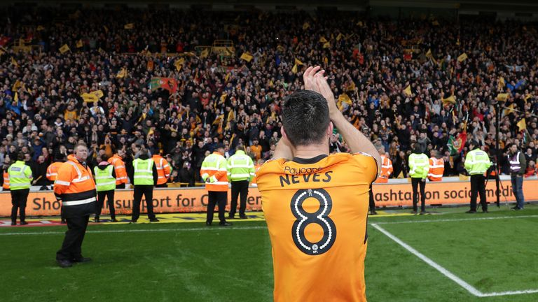 Wolves won the 2017-18 Sky Bet Championship