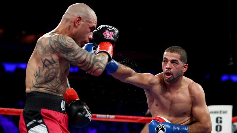 Sadam Ali had won the title from Hall of Famer Miguel Cotto in December