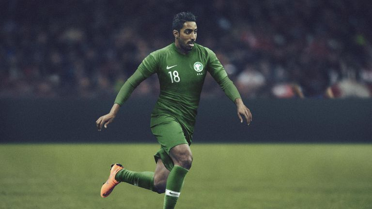 The Green Falcons will open the tournament against Russia wearing the  colour of the country s national 06d2eeacd