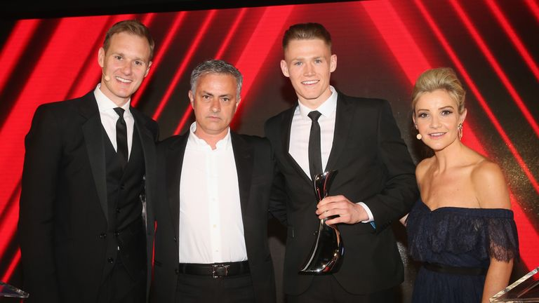 Mourinho created the Manager's Player of the Season award to reward McTominay's performances in the 2017/18 campaign