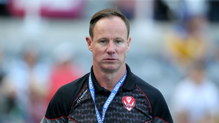 Justin Holbrook believes defeat was a legacy of their Challenge Cup exit