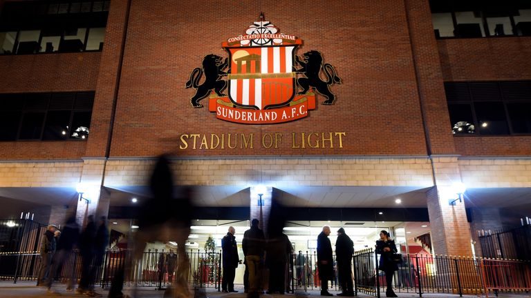 FILE IMAGE - A general view prior to kickoff during the Barclays Premier League match between Sunderland and Manchester City at The Stadium of Light on December 3, 2014